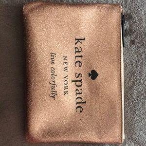 Kate Spade clutch or cosmetic bag
